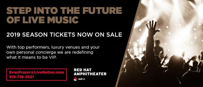 Red Hat VIP Seating