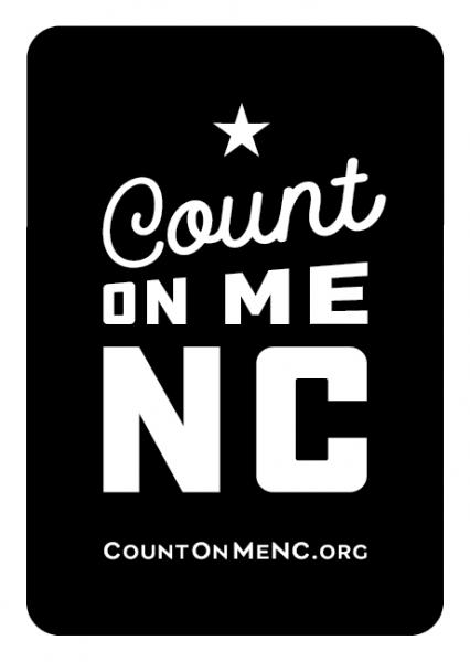 Badge of Count on Me NC course completion
